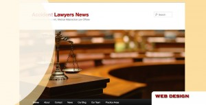 legal, personal injury law web design