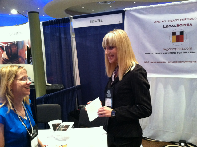 Legalsophia at the AAJ 2013 Miami Beach Winter Convention