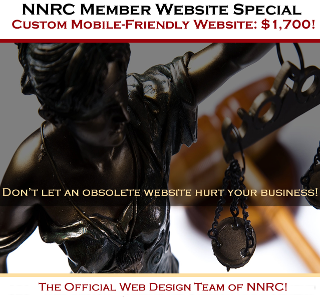 Exclusive Web Design Special for NNRC Members