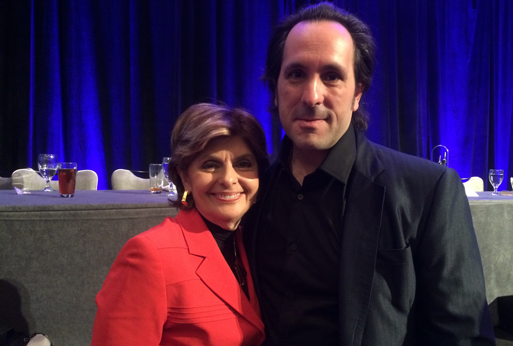 George Magalios Meets Gloria Allred at the 2015 National Trial Lawyer's Summit