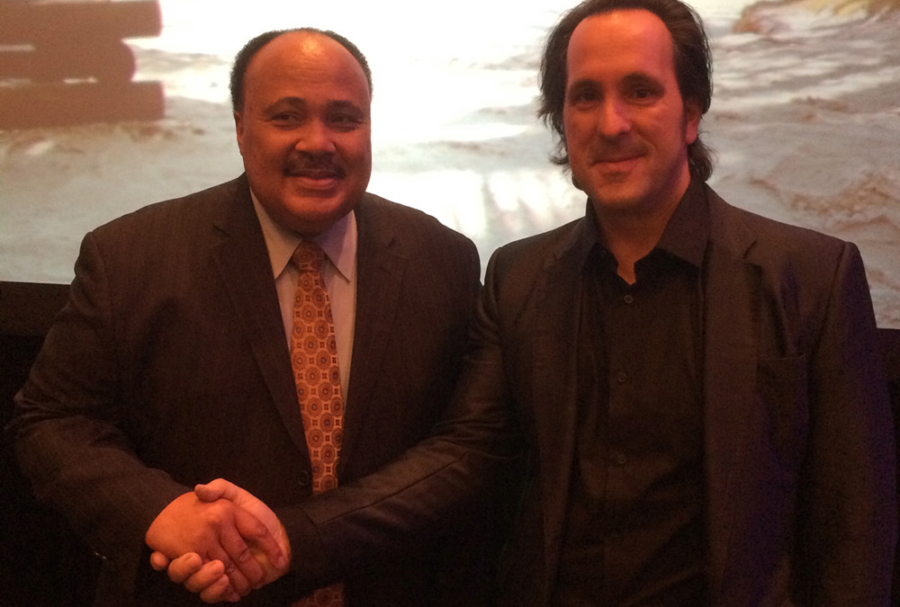 Legalsophia President George Magalios Meets Dr. Martin Luther King III at the 2015 National Trial Lawyer's Summit in Miami Beach