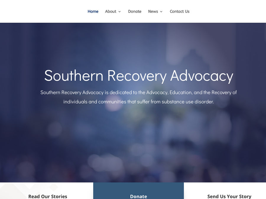 Announcing Our Latest Web Project: Southern Addiction Recovery